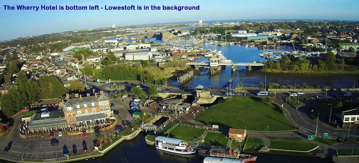 Oulton Broad and Lowestoft