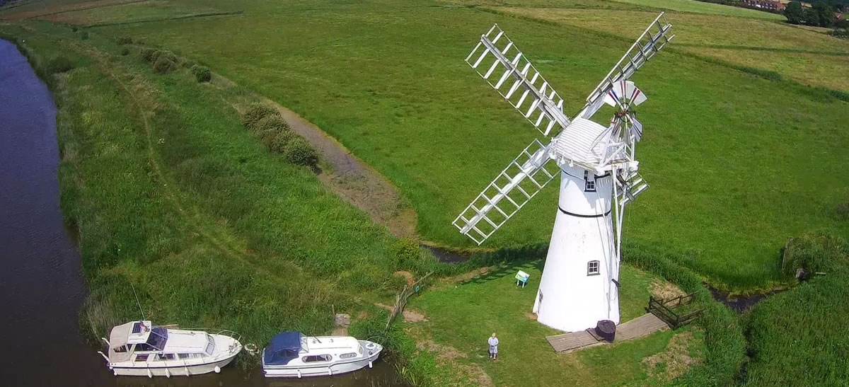 Thurne Dyke drainage mill2