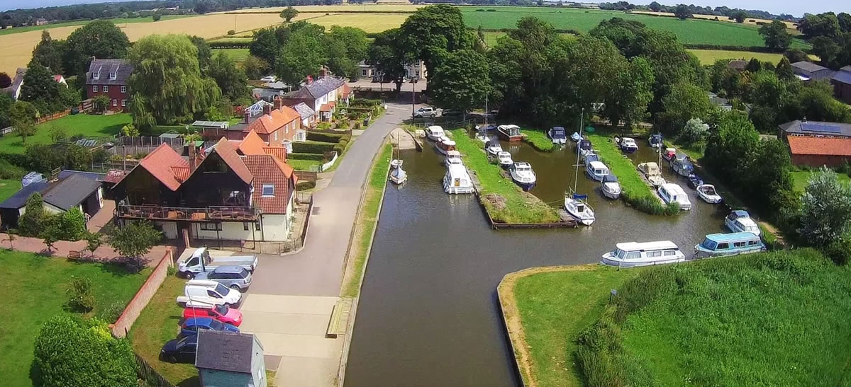 Thurne Village and moorings